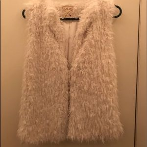 NWOT PacSun L.A. Hearts sherpa faux fur vest